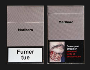 Paquet de cigarette neutre